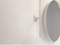 Rivestimento tridimensionale in ceramica a pasta biancaMETROPAPER 3D - CERAMICA SANT'AGOSTINO