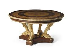 Tavolo rotondo in palissandro MG 1024/PL - Galleria