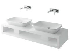 Mobile lavabo doppio sospeso MH | Mobile lavabo doppio - MH