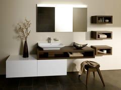Mobile lavabo singolo sospeso MH | Mobile lavabo sospeso - MH