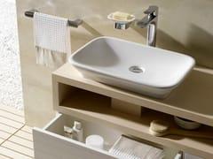 Mobile lavabo singolo sospeso in legno MH | Mobile lavabo singolo - MH