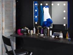 UNICA by Cantoni, MH01 Specchio rettangolare in alluminio anodizzato da parete con illuminazione integrata