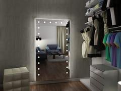 Specchio rettangolare da parete con illuminazione integrataMH05 | Specchio da parete - CANTONI TRADING