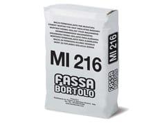 FASSA, MI 216 Malta cementizia per muratura termoisolante