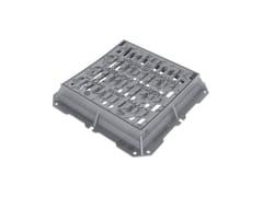Caditoie in ghisa sferoidale sifonabile chiusura automaticaMICHELANGELO STEADY POWER| Concava - Classe D400 - MARIO CIRINO POMICINO