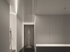 Profilo per illuminazione lineare in alluminio per moduli LEDMICROLED - LETROH