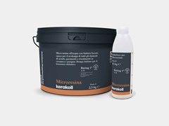 Micro-resina all'acqua colorata con finitura laccata opacaMICRORESINA - KERAKOLL DESIGN HOUSE