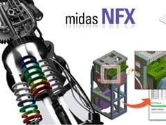Software integrato per l'ingegneria civile MIDAS NFX - MIDAS IT