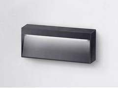 Segnapasso a LED a parete in alluminio verniciato a polvere per esterniMILA M - LED BCN LIGHTING SOLUTIONS