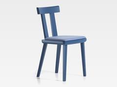 Sedia in legno con cuscino integratoMILANO   Sedia con cuscino integrato - S.I.P.A.