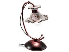 Lampada da tavolo in ceramica con braccio fissoMILANO | Lampada da tavolo - FERROLUCE
