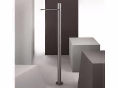Miscelatore per lavabo da terra monocomando in acciaio inox MILANO - 3336A/3036B - Milano