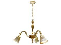Lampada a sospensione in ottone MILAZZO I | Lampada a sospensione -