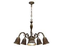 Lampada a sospensione in ottone MILAZZO III | Lampada a sospensione -