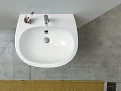 Lavabo sospeso in ceramica MILK   Lavabo sospeso - Milk