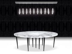 Tavolo in marmo di CarraraMILLE PIEDS - BEAU & BIEN