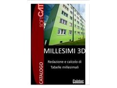 Redazione e calcolo di tabelle millesimaliMILLESIMI 3D - COINTEC