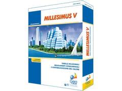 GEO NETWORK, MILLESIMUS Redazione tabelle millesimali e regolamenti condominiali