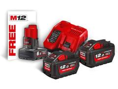 Kit batterie e caricabatterieMILWAUKEE KIT ENERGY 18V 12,0 AH - MILWAUKEE ELECTRIC TOOL CORPORATION