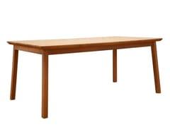 Tavolo da pranzo rettangolare in legno masselloMING | Tavolo - SOFTREND GROUP OÜ
