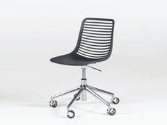 Sedia in Nylon® a 5 razze ad altezza regolabile con ruoteMINI DESK - CASPRINI GRUPPO INDUSTRIALE