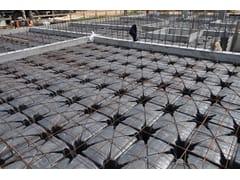 Cupolino in plastica e modulo per vespaio aeratoMINI HERCULES - PROJECT FOR BUILDING