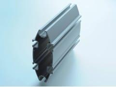 Nuova Oxidal, MINI PROFILI Profilo di supporto e raccordo per pareti in vetro