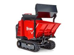 Hinowa, MINIDUMPER HS1203 Minidumper cingolato compatto e versatile