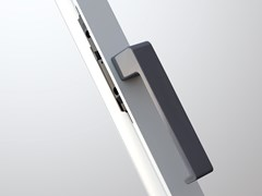 MASTER ITALY, MINIMAL DESIGN Maniglia per finestre in alluminio pressofuso