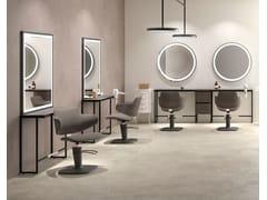 Postazione lavoro per parrucchiereMINIMAL QUADRA - MALETTI