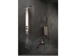 Colonna doccia termostatica con deviatore con doccetta colonne