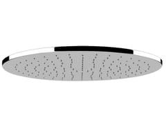 Soffione doccia a pioggia in acciaio MINIMALI TONDO 40416 - Minimali