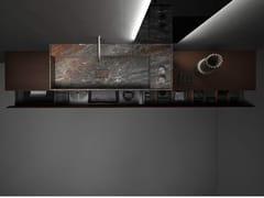 Mobile bagno sospeso in legno con cassettiMINIMUM | Mobile bagno sospeso - FALPER