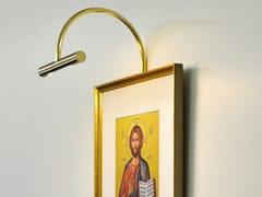 Lampada da parete a LED in ottone per quadriMINIMUS MONO - BETEC LICHT