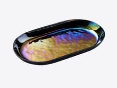 Vassoio ovale in vetroMIRAGE | Vassoio ovale - RADAR INTERIOR