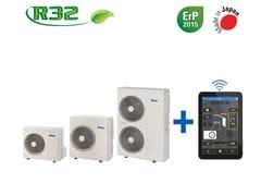 Pompa di calore aria-acqua DCInverter monoblocco con appMIRAI SMI + FEBOS-HP - EMMETI