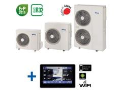Pompa di calore ad aria/acqua DC INVERTERMIRAI SMI + Febos 4.0 - EMMETI