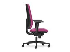 Sedia ufficio girevole a 5 razzeMIRAI | Sedia ufficio a 5 razze - ARTE & D