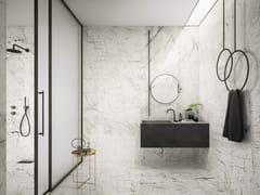 Pavimento/rivestimento in gres porcellanato effetto marmo per interniMISTIQ WHITE - CERAMICHE KEOPE