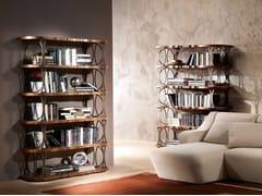 Libreria a giorno in noce MISTRAL   Libreria - Mistral