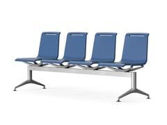 Seduta su barra a pavimento in poliuretanoMIT | Seduta su barra - ACTIU