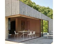 Tavolo da giardino quadrato in alluminioMOAI | Tavolo quadrato - FAST