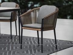 Sedia da giardino con braccioliMOCCASIN | Sedia con braccioli - SNOC OUTDOOR FURNITURE