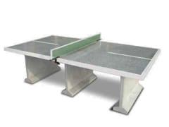 Tavolo da ping pong in calcestruzzo armatoMOD. B | Tavolo per spazi pubblici - CALZOLARI