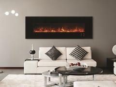 Caminetto elettrico a parete con vetro panoramicoMODERN | Caminetto elettrico - BRITISH FIRES