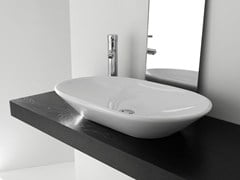 Lavabo da appoggio ovale in ceramicaBP021-BP022-BP023 | Lavabo - BLEU PROVENCE