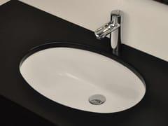 Lavabo da incasso sottopiano ovale in ceramicaBP001 | Lavabo - BLEU PROVENCE