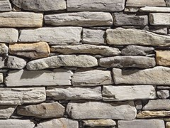 Rivestimento in pietra ricostruitaMODERNO P78 | Grigio Chiaro - GEOPIETRA