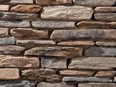 Rivestimento in pietra ricostruitaMODERNO P78 | Marrone - GEOPIETRA