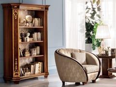 Libreria a giorno in legno con illuminazioneMODIGLIANI | Libreria - ARREDOCLASSIC
